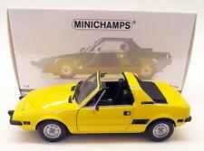 Minichamps 1/18 pressofuso - 100 121664 FIAT X1/9 1974 Giallo modello auto