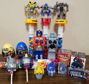 Transformers Generation 1/Live Action Movies Novelty Candy Containers and Toys!