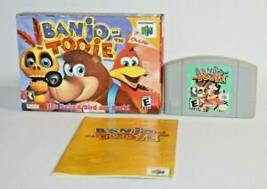 Banjo-Tooie N64 Nintendo 64 Complete In Box CIB AUTHENTIC GREAT Condition! NICE!