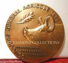 1993 MEDAILLE MDP CONCOURS CGA COCHON SALON AGRICULTURE