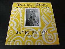 """JANIG PETTON   EP 45T 7""""   MOUEZ BREIZ 4561"""