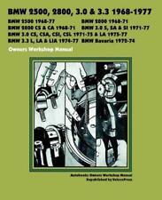 BMW E3 NEW SIX 3.0 LITRE CS CSA CSL CSI S SA SI Owners Service Manual Handbook
