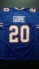 Frank Gore Autographed Buffalo Bills Custom Jersey (JSA Witnessed COA)
