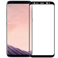 Samsung Galaxy S8 Plus Panzerglas HQ Echt Glas Folie FULL SCREEN 3D Schwarz