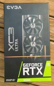 EVGA GeForce RTX 3080 XC3 Ultra Gaming 10GB Graphics Card 10G-P5-3885-KH   LHR