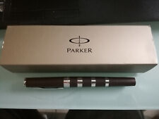 Parker Ingenuity Large Brown Rubber Ct 5th Technology Med Pen New In Box