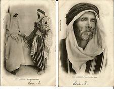 2x1903 Collection Idéale P.S. Postcards Algeria 118/121 inc Duplex Postmark 383