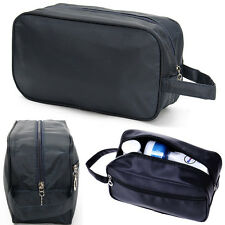Mens Travel Large Wash Toiletry Bag Cosmetic Makeup Organizer Waterproof Case