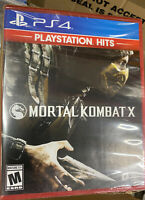 PS4 Playstation Hits Mortal Kombat X Mature 17+ Playstation 4 New and Sealed