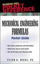 Mechanical Engineering Formulas Pocket Guide (McGraw-Hill Pocket Reference), Hic