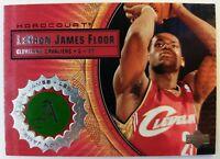 2003 03-04 Upper Deck Hardcourt LeBron James Rookie RC, Game Used Floor #LB8