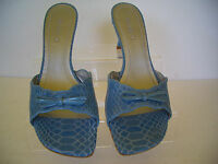 Womens Shoes Blue Sandals Michelle D Size 7