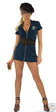 NEW Hustler Sgt Sexy Police Girl Halloween Dress Up Costume M/L
