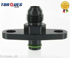 AN -6 ( -6 JIC ) Fuel Rail Adapter Subaru EJ20 - GDA WRX Bug Eye Onwards BLACK