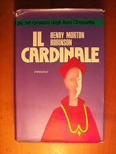 LIBRO - HENRY MORTON ROBINSON - IL CARDINALE - GARZANTI 1998