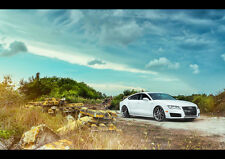 AUDI A7 360 FORGED WHEELS NEW A3 CANVAS GICLEE ART PRINT POSTER FRAMED