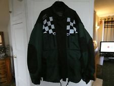 "Genuine Triumph ""Triple Collection"" XXL textile jacket in green/black. Armour."