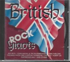BRITISH ROCK GIANTS Beck / Clapton / Farlowe / Mayall / Mac (CD 1988 Holland)