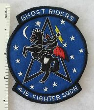 416th FIGHTER SQUADRON US AIR FORCE PATCH Custom Hand Sewn for USAF VETERANS