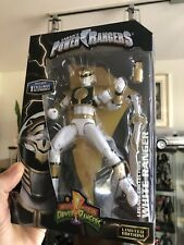 New Bandai Mighty Morphin Power Rangers Legacy White Ranger Action Figure