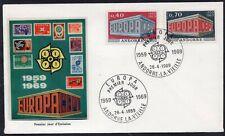 EUROPA CEPT 1969 - ANDORRA - FDC