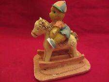 Avery Creations  1993 Teddy Bear on Rocking Horse  NIB  (1015OG)  24593