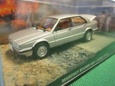 JAMES BOND CARS COLLECTION 038 MASERATI BITURBO  LICENCE TO KILL