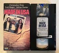 VHS: Made In USA (1988) Lori Singer, Chris Penn