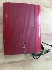 Sony PlayStation 3 PS3 500GB Game Console Red