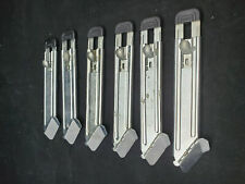 Box Cutter Utility Knife Adco Jiffy Safety Guide Knife Lot of 12 New
