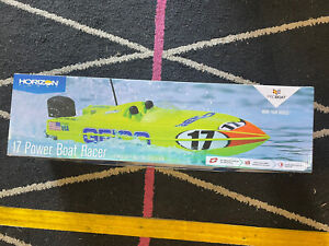 ProBoat Racer Deep-V 17in Miss Geico RC Boat As New