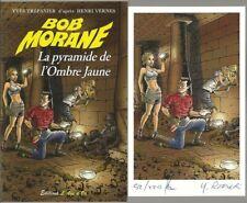 EO BOB MORANE HS N° 1 YVES TRÉPANIER + EX LIBRIS : LA PYRAMIDE DE L'OMBRE JAUNE
