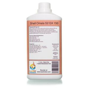1L Shell Omala S2 GX 150 (Omala 69) ISO VG 150 EP Gear Oil