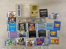 Nintendo Gameboy Classic mit Spielen u Case