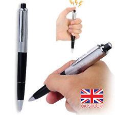 Electric Shock Pen Joke Gag Prank Novelty Trick Fun Funny Gadgt Boy Gift Toy UK