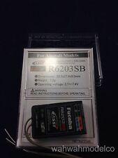Futaba R6203SB FASST 2.4GHz 3-Channel S.Bus High Speed Receiver