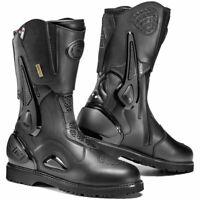 Sidi Armada Gore Tex GTX Waterproof Microfibre Touring Motorcycle Boots Black