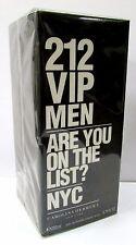 Carolina Herrera 212 VIP Men 200ml 6.75 oz Eau de Toilette EDT New 100% Original