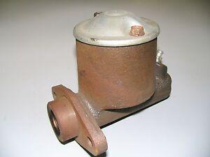 Brake Master Cylinder 60 Ford 6-cylinder w/ Power Brakes NEW , OLDER STOCK 1960
