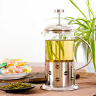 350ml / 3-cup Stainless Steel Glass Cafetiere French Filter Coffee Maker Plunger