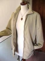 MAXMARA WEEKEND Ladies gold shiny padded COAT ANORAK JACKET size UK 10
