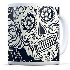Horror Sugar Skulls - Drinks Mug Cup Kitchen Birthday Office Fun Gift #8524