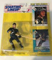 JAROMIR JAGR 1993 Starting Lineup Figure Bonus Card Pittsburgh Penguins NHL