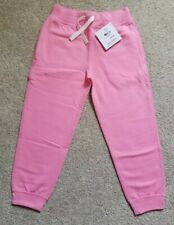 NWT Hanna Andersson Pink Jogger Sweatpants, Size 110 / US 5