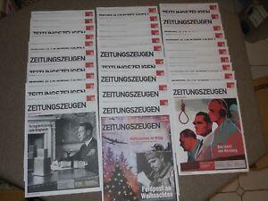 Zeitungszeugen 1933-1945, Sammeledition Ausgabe 31-60 in Sammlerbox -neuwertig-