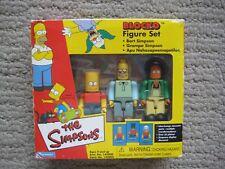 Playmates Toys The Simpsons Blocko Figure Set New Bart Grandpa Apu
