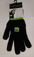 TOUCH SCREEN MENS GLOVES FOR iPHONES, iPADS, HTC, SAMSUNG, TOM TOM , KINDLE