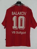 Soccer Jersey Trikot Camiseta Maillot Stuttgart Balakov 10 Size M