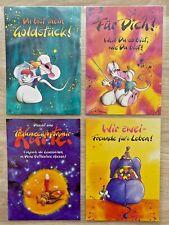 30 Diddl Sammel-Postkarten u. 13 Diddl-Papiertüten (siehe Fotos u. Beschreibung)