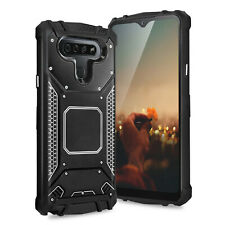 For Lg K51/Q51/Reflect Magnetic Support Metal Plate Hard Phone Case Cover